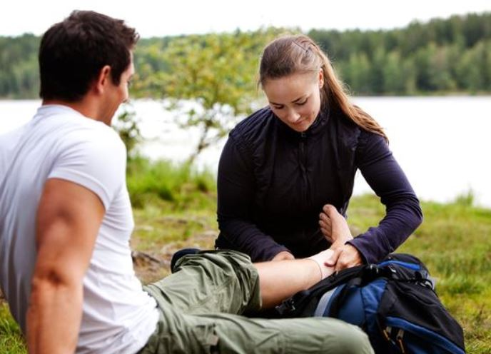 first aid and recovery
